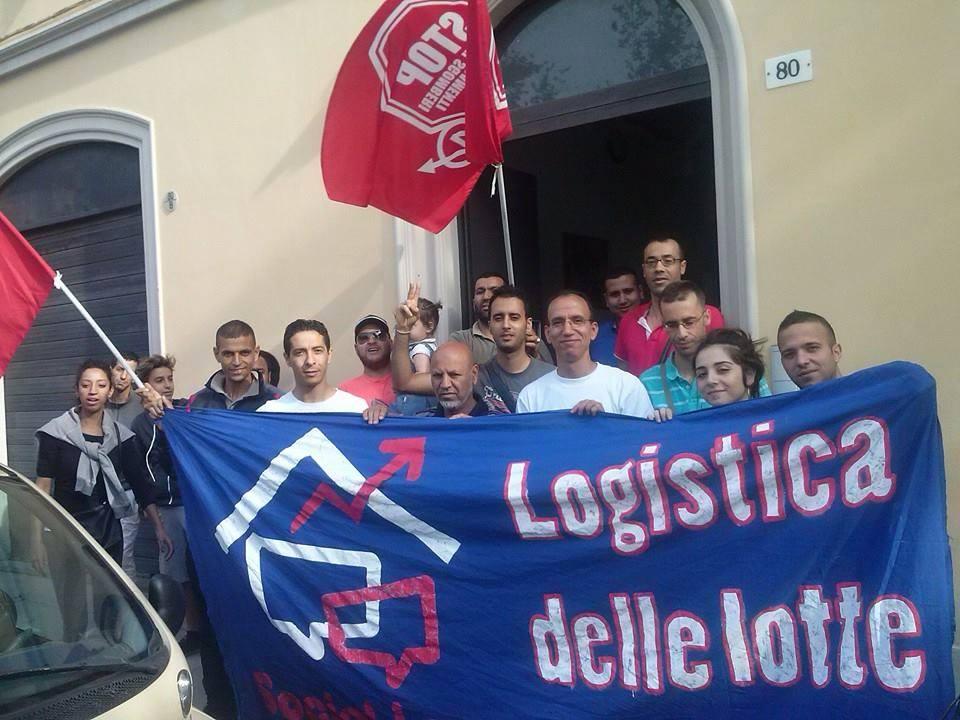 Sfratto rinviato in via Sant'Isaia (foto da fb SocialLog)