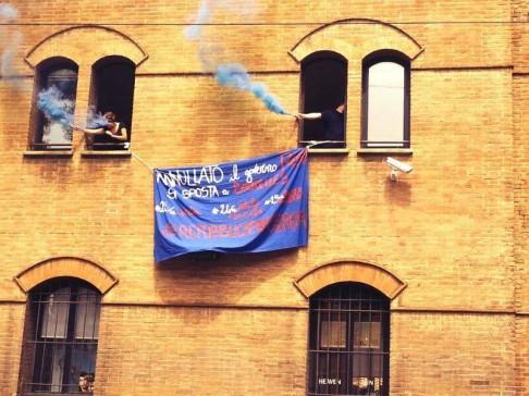 Blitz a Repubblica (foto #civediamolundici Bologna)