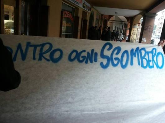 Sgombero #ioccupo (foto fb Làbas)