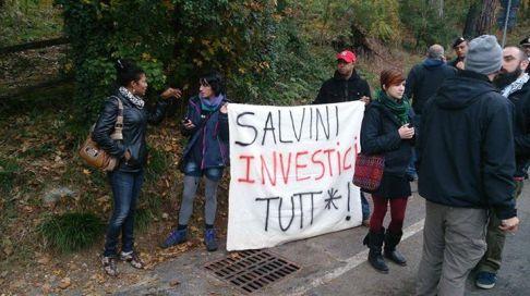 Salvini Imola (foto Brigata 36)