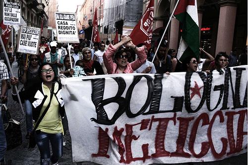Corteo Bologna meticcia (foto Flavia Sistilli)