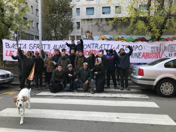 sfratto ph fb Associazione pugno chiuso