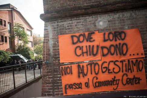 Sgombero Community Center Hobo - © Michele Lapini