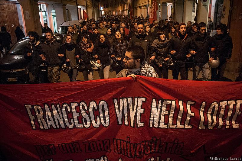Francesco vive nelle lotte - 11 marzo 2015 - © Michele Lapini
