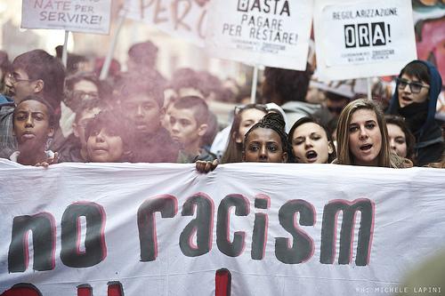 Studenti migranti contro il razzismo - Repertorio  © Michele Lapini