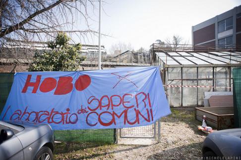 Occupazione Hobo 2013 (© Michele Lapini)