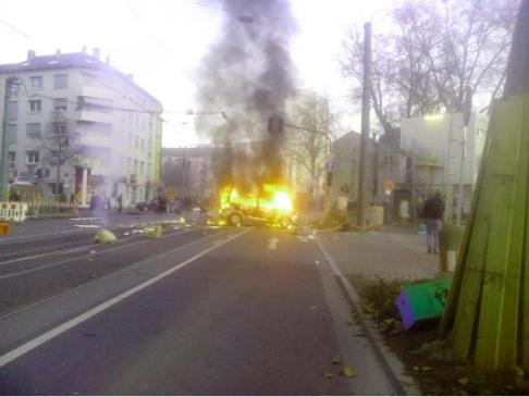 Blockupy Bce (foto @ceeri0 per Zic.it)