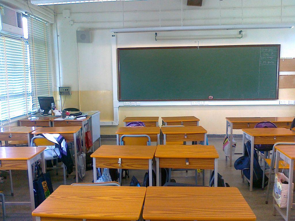 Classe scolastica (foto di David Woo)