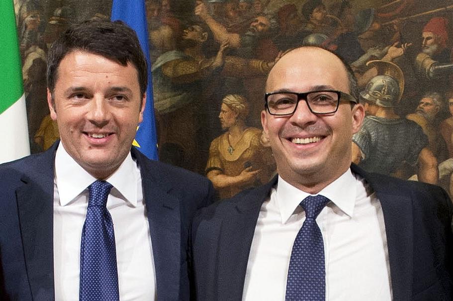 Matteo Renzi e Davide Faraone (flickr palazzochigi)