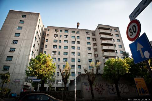 Case popolari via Gandusio - © Michele Lapini