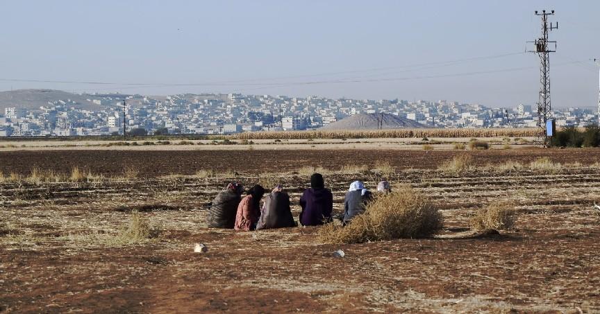 Guardando Kobane (foto Silvia Todeschini)