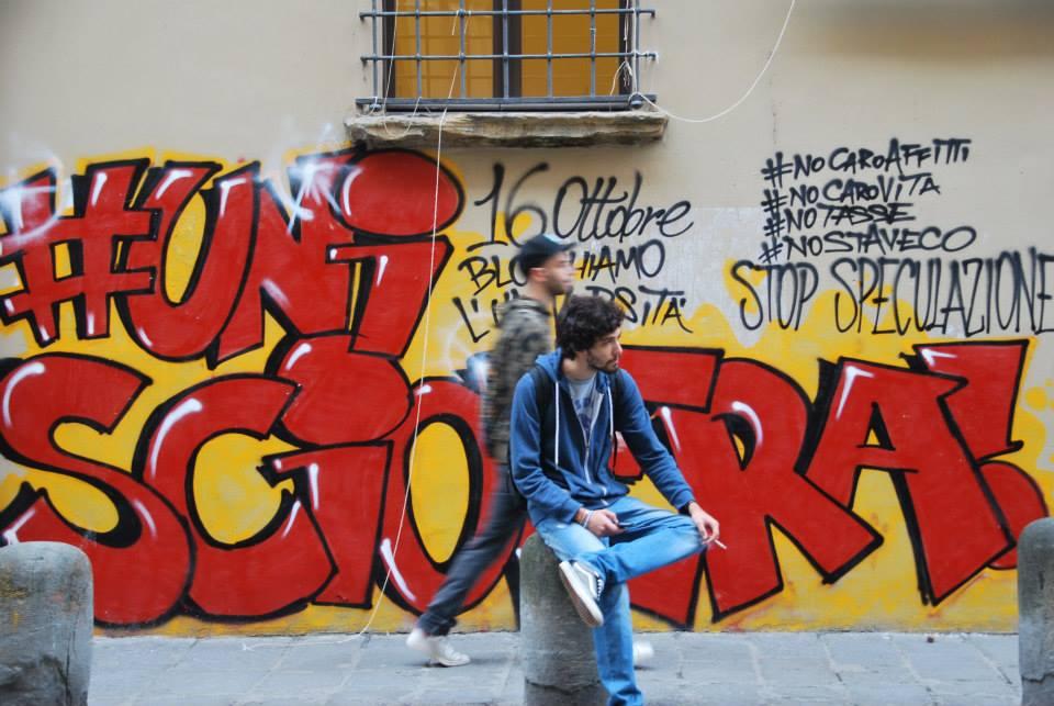 Murales al 25 (foto fb Cua)